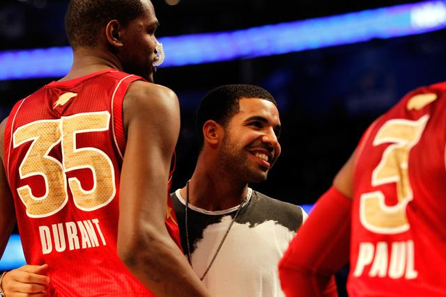 Drake at 2012 NBA All Star Game