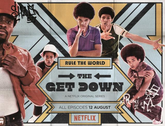 The Get Down TV show poster