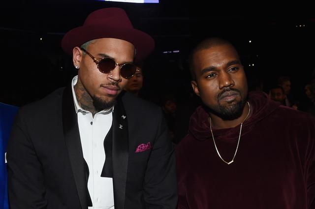 Kanye West & Chris Brown