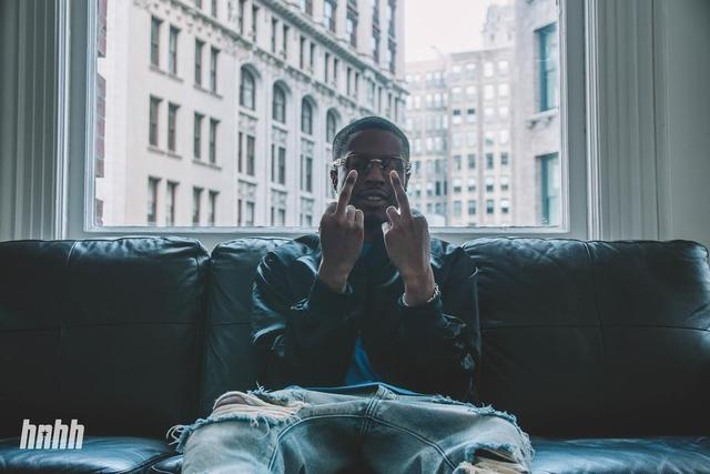 Pierre Bourne chilling at HNHH office