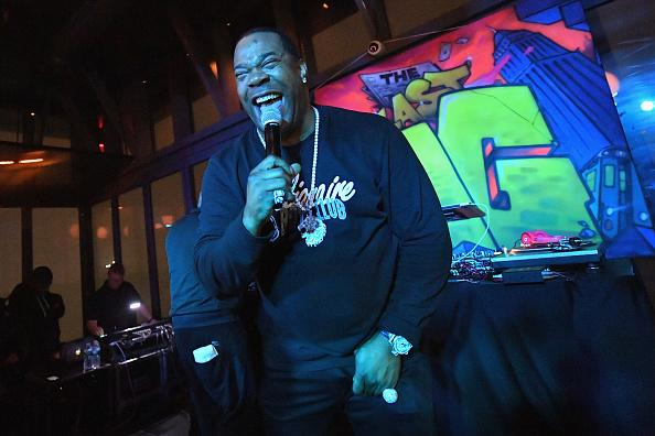 Busta Rhymes performs during TBS' The Last O.G. Premiere at The William Vale on March 29, 2018 in New York City.