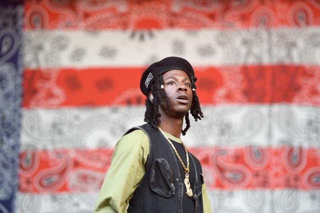 Joey Bada$$ at the Meadows festival in NYC