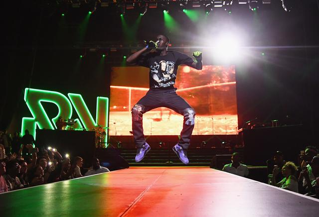 Sheck Wes performs onstage during Chance The Rapper to Headline Spotify's RapCaviar Live In Brooklyn in Partnership with Live Nation Urban and Verizon on September 29, 2018 at Ford Amphitheater at Coney Island Boardwalk in Brooklyn, New York.