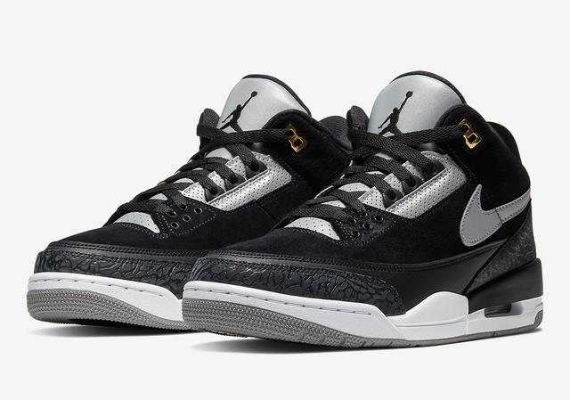 "Air Jordan 3 Tinker ""Black Cement"""