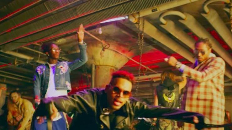 """Chris Brown Drops Off New Video For """"High End"""" Feat. Future & Young Thug"""