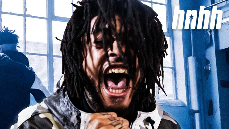 """Scarlxrd Bears The Cross Of """"Anti-Old Heads Worldwide"""" In The Latest """"Between The Lines"""""""