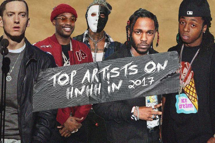 Top Artists On HNHH In 2017