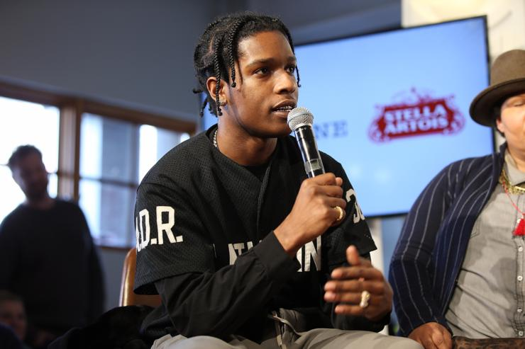 "A$AP Rocky Releases New Single ""5IVE $TAR$"""