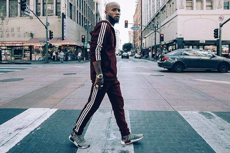 "All-Star Flex: Tory Lanez Links With Adidas and Champs Sports For ""Maroon Pack"""