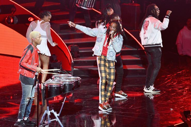 Twitter Has Mixed Emotions About Migos & N.E.R.D.'s NBA All-Star Performance