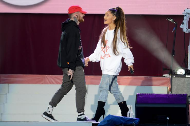 Ariana Grande Shares Sweet Clip Of Mac Miller Following Split With Pete Davidson
