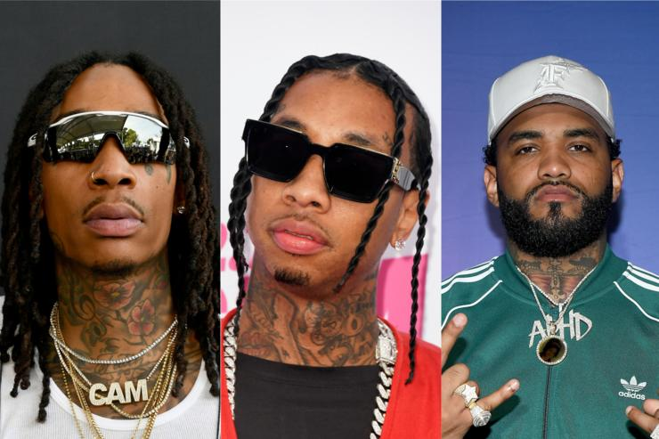 "Wiz Khalifa, Tyga, & Joyner Lucas Hold Down Our ""Fire Emoji"" Playlist"