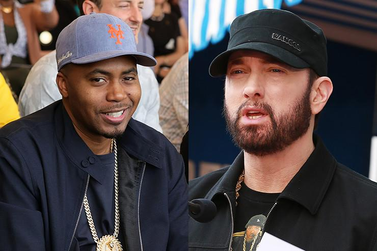Nas & Eminem's First Rap Collab: Twitter Reacts
