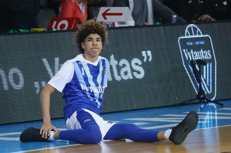 """LaMelo Ball's Coach: """"You Can't Control That Little Chipmunk"""""""