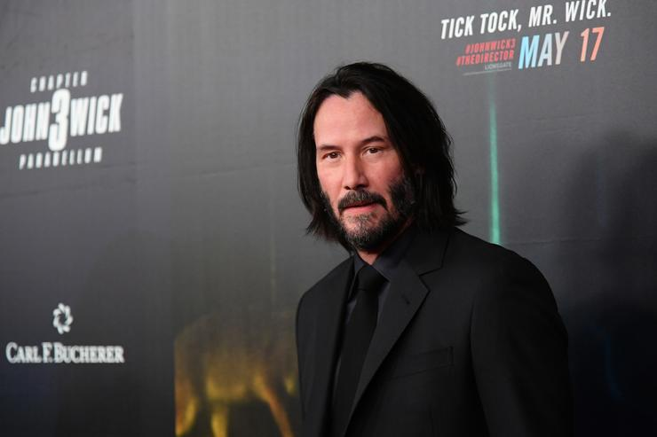 Keanu Reeves gets deep discussing death on the Late Show