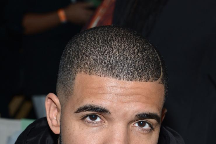 Drake at Serena Williams Signature fashion show