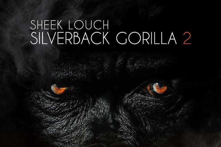 "sheek louch ""silverback gorilla 2"" album cover"