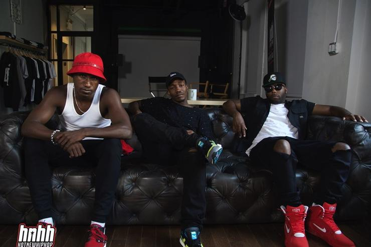 Funk Volume's Hopsin, Dizzy Wright, and Jarren Benton