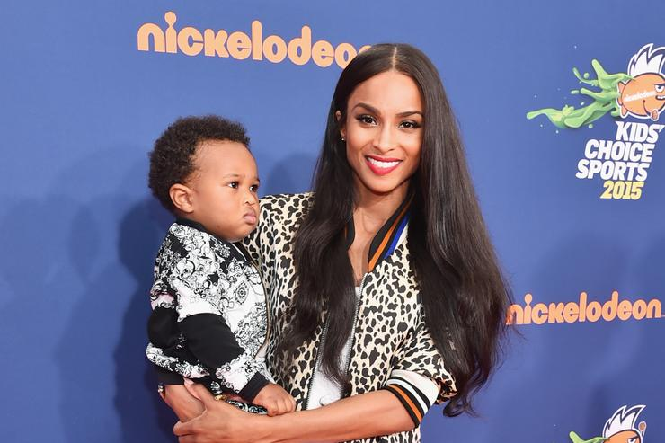 Ciara Future Zahir Wilburn Nickelodeon Kids' Choice Sports Awards 2015