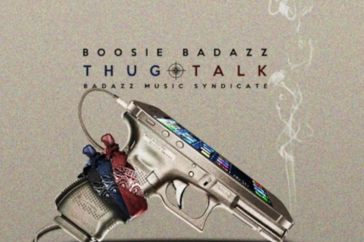 "Cover art for Boosie Badazz' ""Thug Talk"" album"