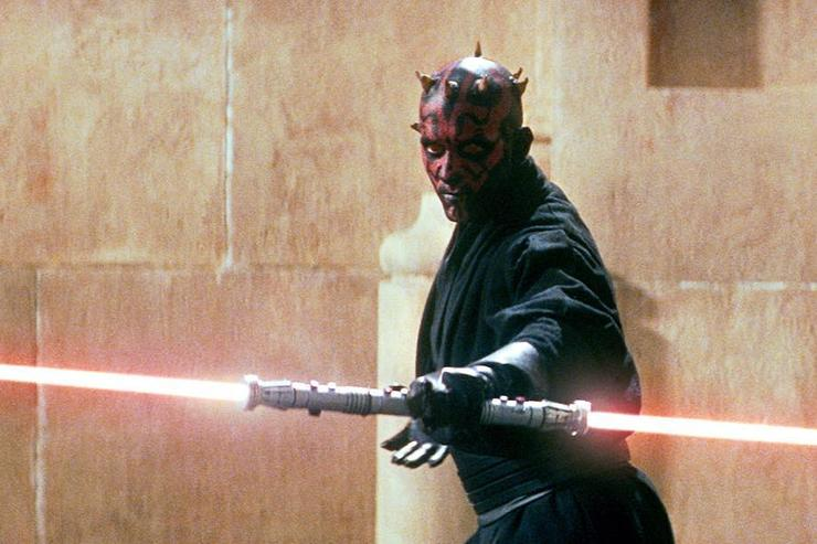 Darth Maul lightsaber Star Wars