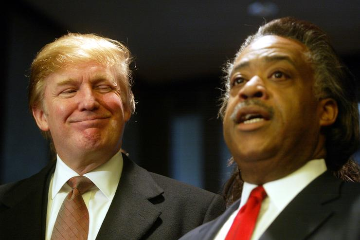 Donald Trump Al Sharpton