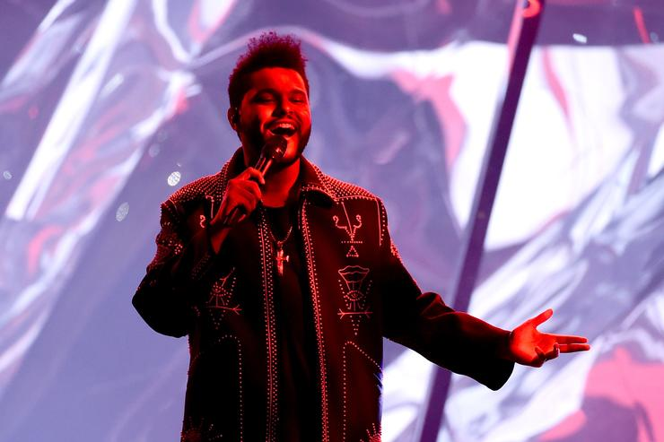 The Weeknd at the AMAs