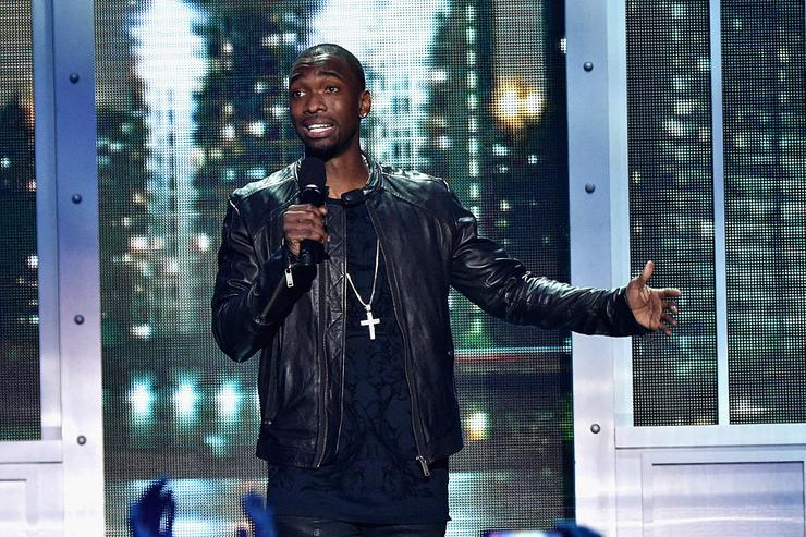 Jay Pharoah speaks onstage during the VH1 Big Music in 2015: You Oughta Know Concert at The Armory Foundation on November 12, 2015 in New York City.