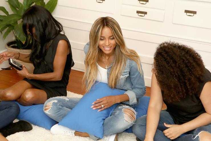 Ciara at Keds collective even in Santa Monica, California in 2016.