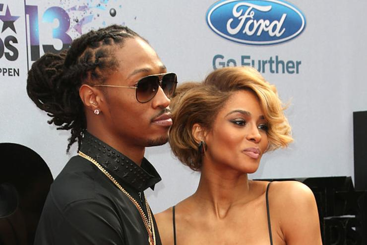 Future (L) and singer Ciara attend the 2013 BET Awards at Nokia Theatre L.A. Live on June 30, 2013 in Los Angeles, California.