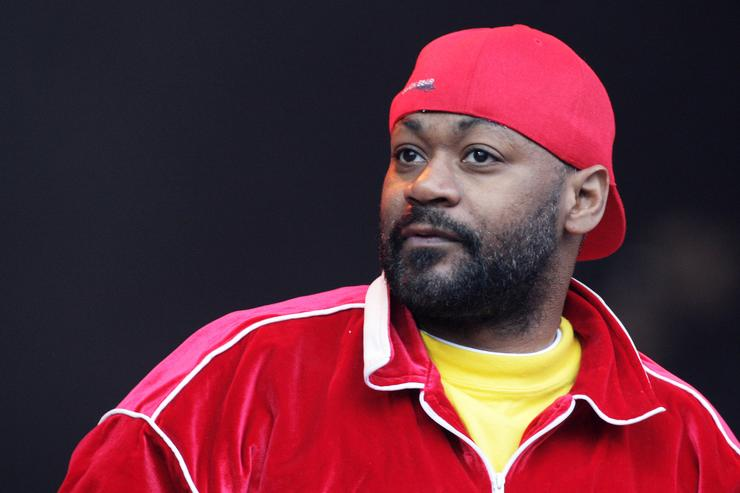 Ghostface Killah at The Glastonbury Festival 2011.