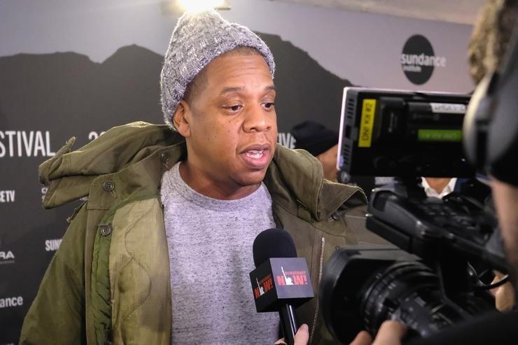 Jay Z at Sundance Film Festival.