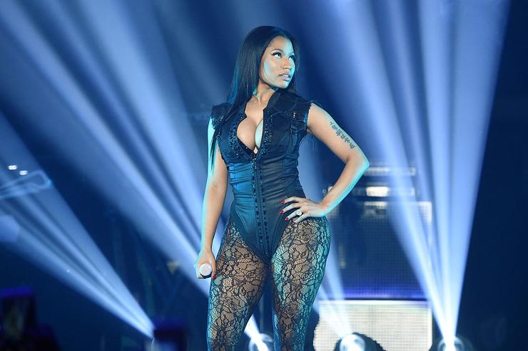 Nicki Minaj performs onstage during TIDAL X: 1020 Amplified by HTC at Barclays Center of Brooklyn on October 20, 2015 in New York City.