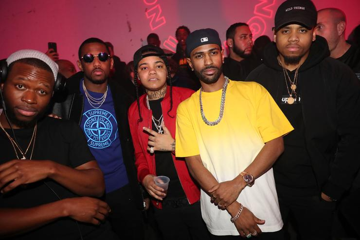 """Big Sean at """"I Decided"""" listening party in New York."""