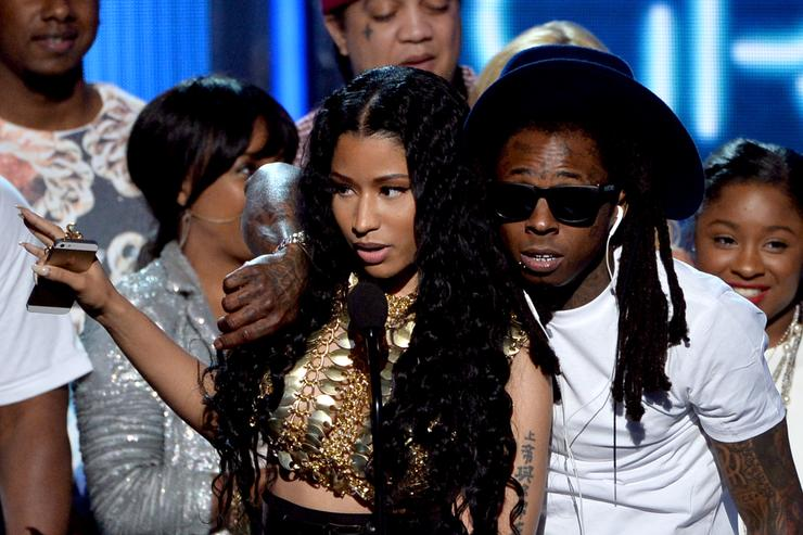 Lil Wayne & Nicki Minaj at the BET AWARDS '14