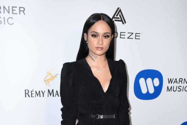 Performer Kehlani attends the Warner Music Group GRAMMY Party at Milk Studios on February 12, 2017 in Hollywood, California.