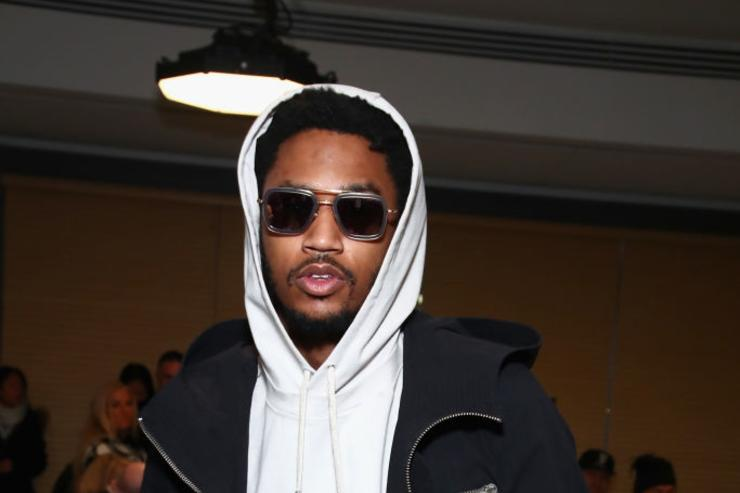 Trey Songz attends the Public School collection during, New York Fashion Week: The Shows at Milk Gallery on February 12, 2017 in New York City.