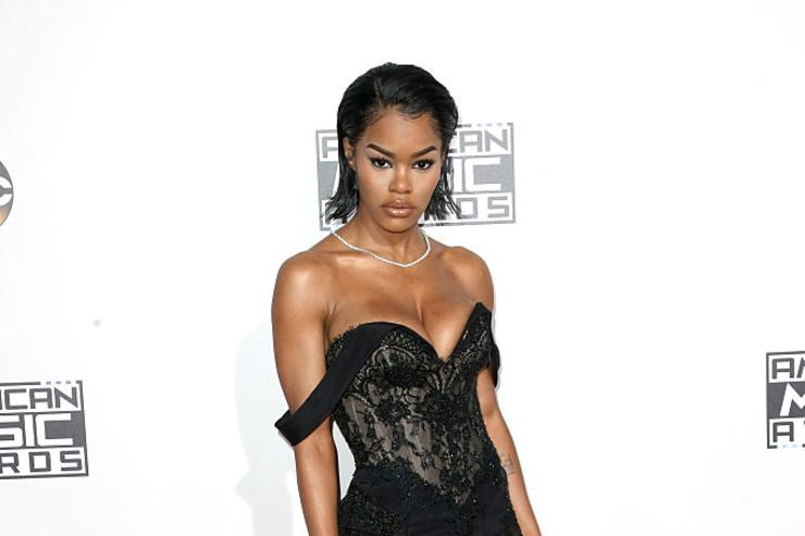 Teyana Taylor attends the 2016 American Music Awards at Microsoft Theater on November 20, 2016 in Los Angeles, California.