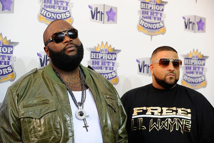 Rick Ross and Dj Khaled attends 2010 VH1 Hip Hop Honors at Hammerstein Ballroom on June 3, 2010 in New York, New York.