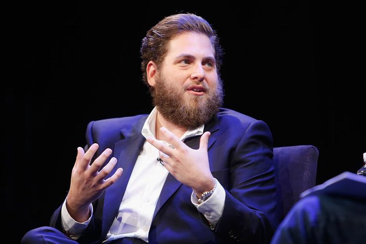 Jonah Hill speaks at The New Yorker Festival 2016 - Jonah Hill talks with David Remnick at Acura at SIR Stage37 on October 8, 2016 in New York City.
