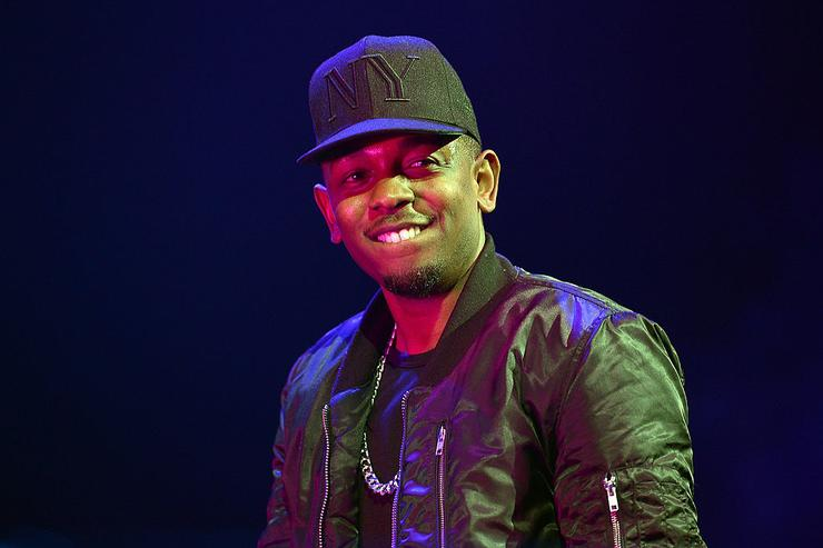 Kendrick Lamar performs onstage at Power 105.1's Powerhouse 2013, presented by Play GIG-IT, at Barclays Center on November 2, 2013 in New York City.