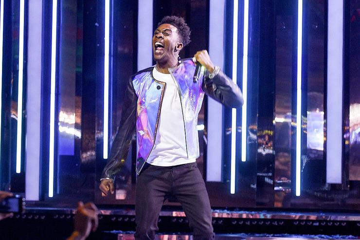 Desiigner performs at the 2016 iHeartRADIO MuchMusic Video Awards at MuchMusic HQ on June 19, 2016 in Toronto, Canada.