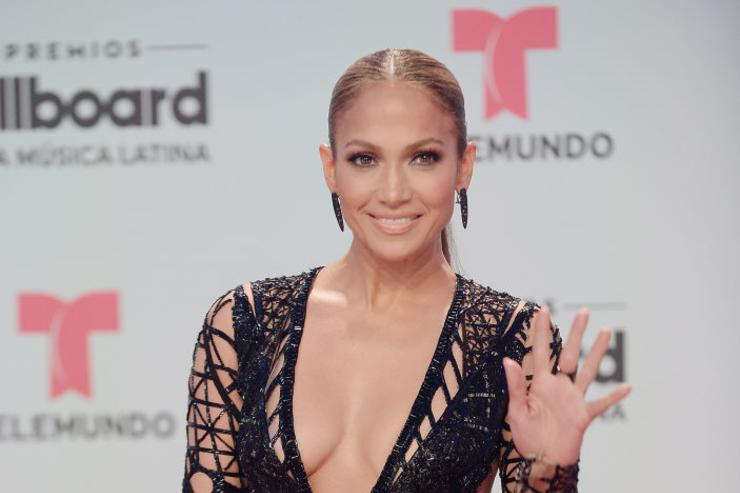 Jennifer Lopez attends the Billboard Latin Music Awards at Watsco Center on April 27, 2017 in Miami, Florida.