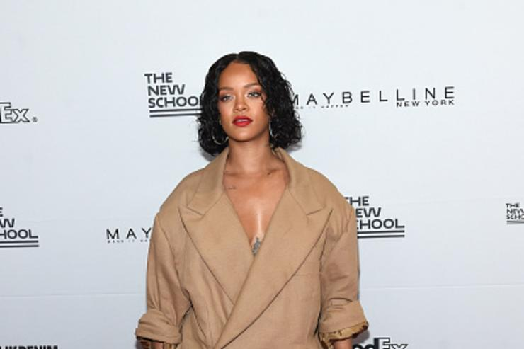 Rihanna at Parsons benefit