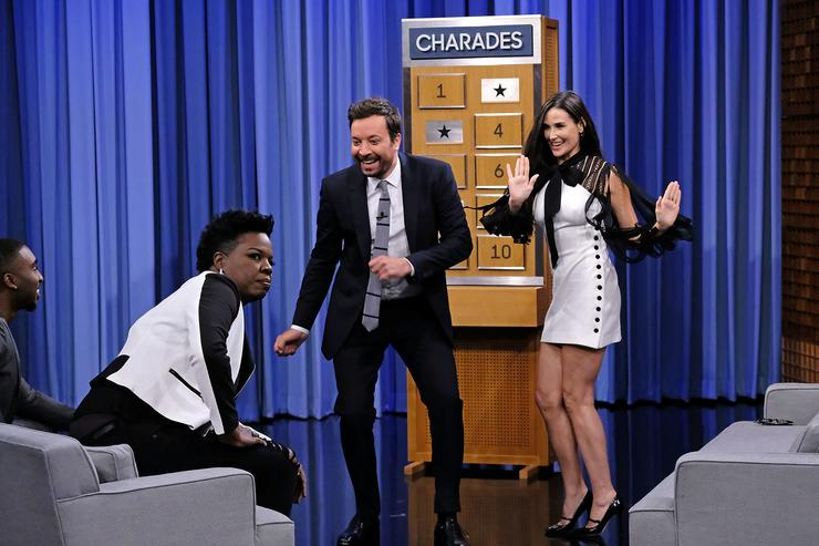 Demetrius Shipp Jr. on The Tonight Show with Jimmy Fallon