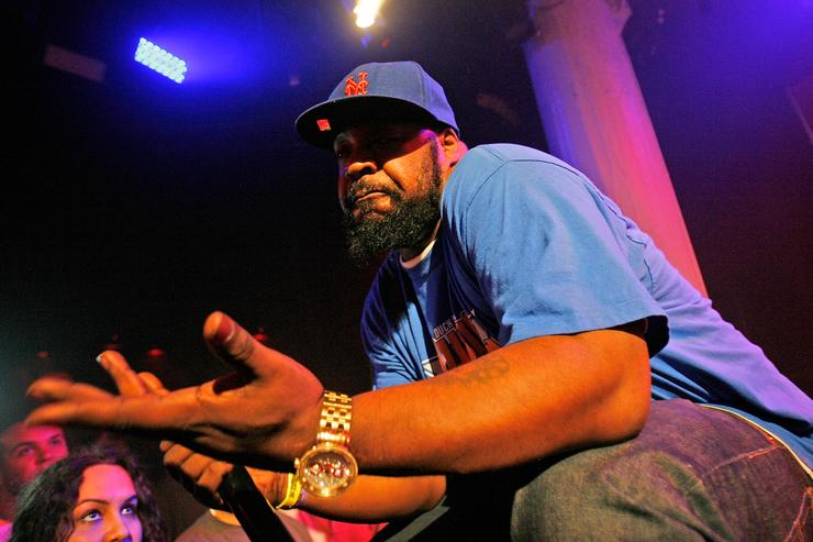 Sean Price performs at 2012 Rock The Bells Festival Press Conference