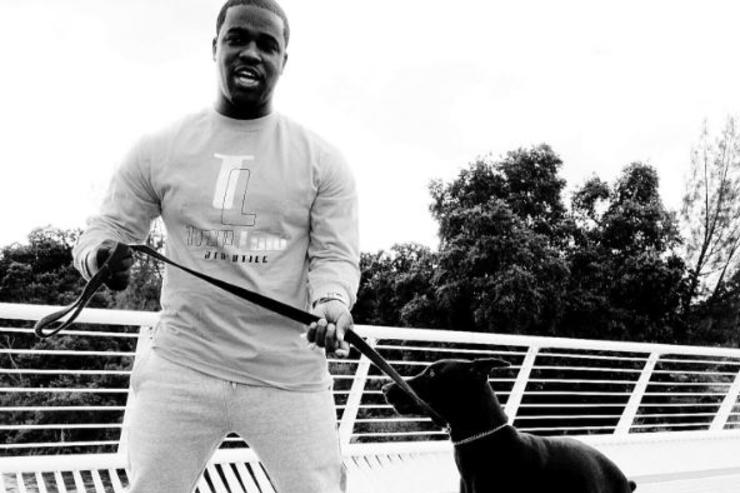 Asap Ferg poses in new traplord collection line