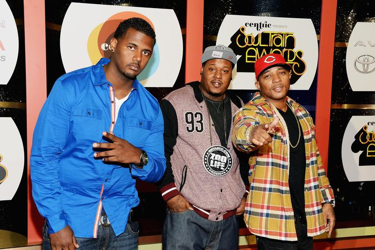 40 glocc at Soul Train Awards 2013