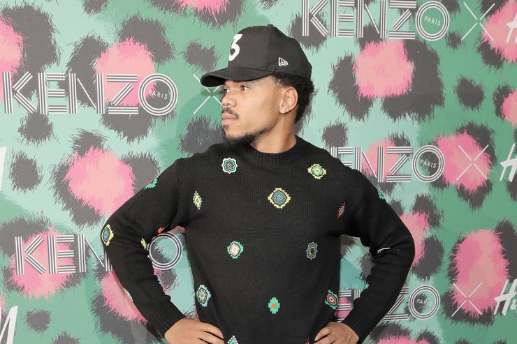Chance the Rapper at KENZO x H&M Launch Event