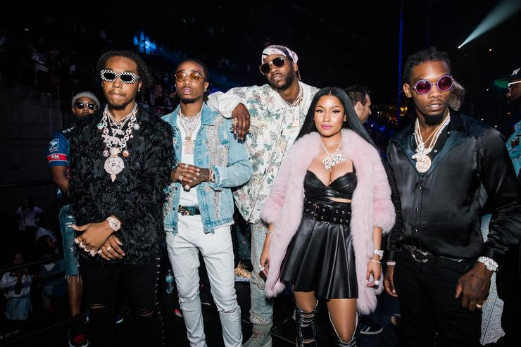 2 Chainz, Migos and Nick Minaj  at Hot 107.9's Birthday Base